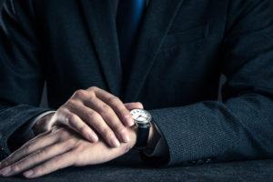 営業マンにぴったり!腕時計の3つの選び方